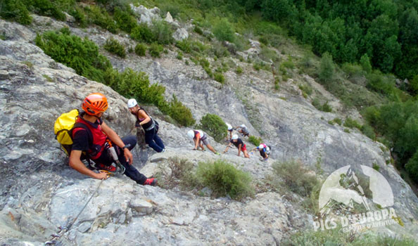 Via ferrata de Sesué Valle Benasque