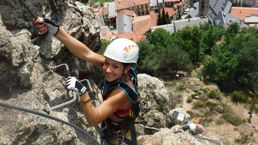 pack barranquismo y via ferrata en barcelona 62