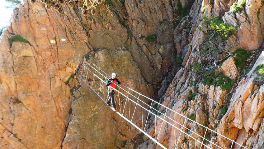 via ferrata cala moli bono regalo 25