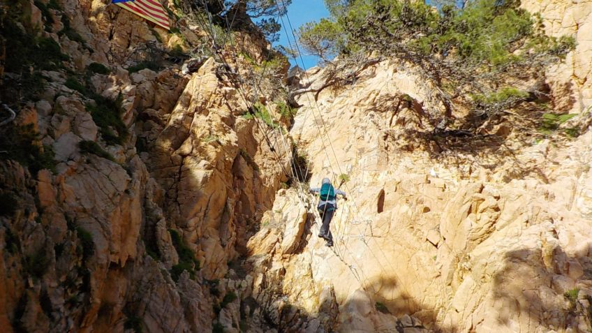 via ferrata en el mar 26