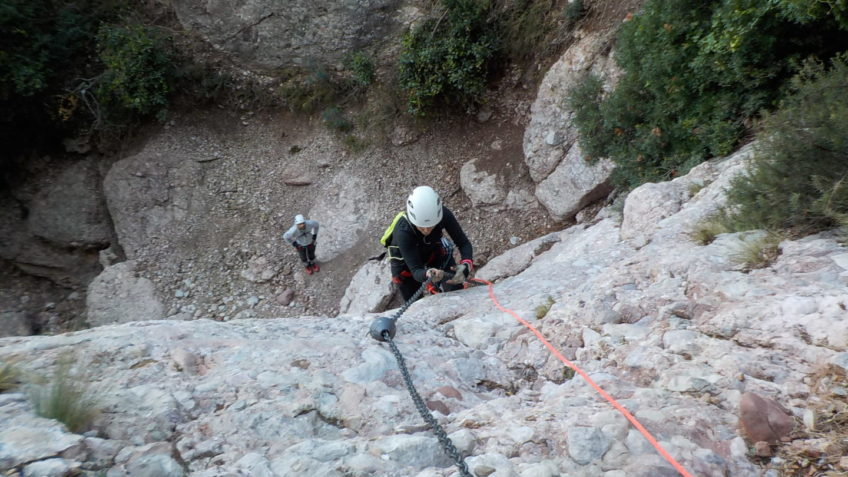 via ferrata canal de las damas 141 10