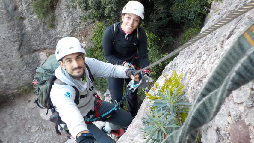via ferrata canal de las damas 141 14