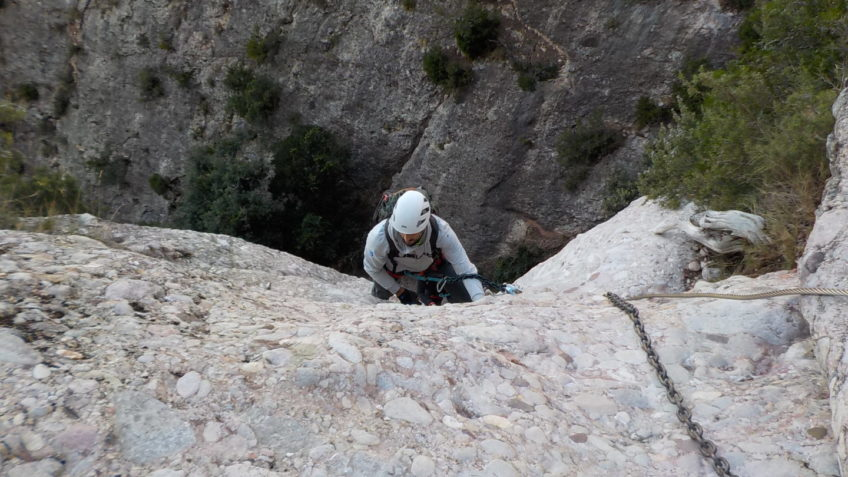 via ferrata canal de las damas 141 15